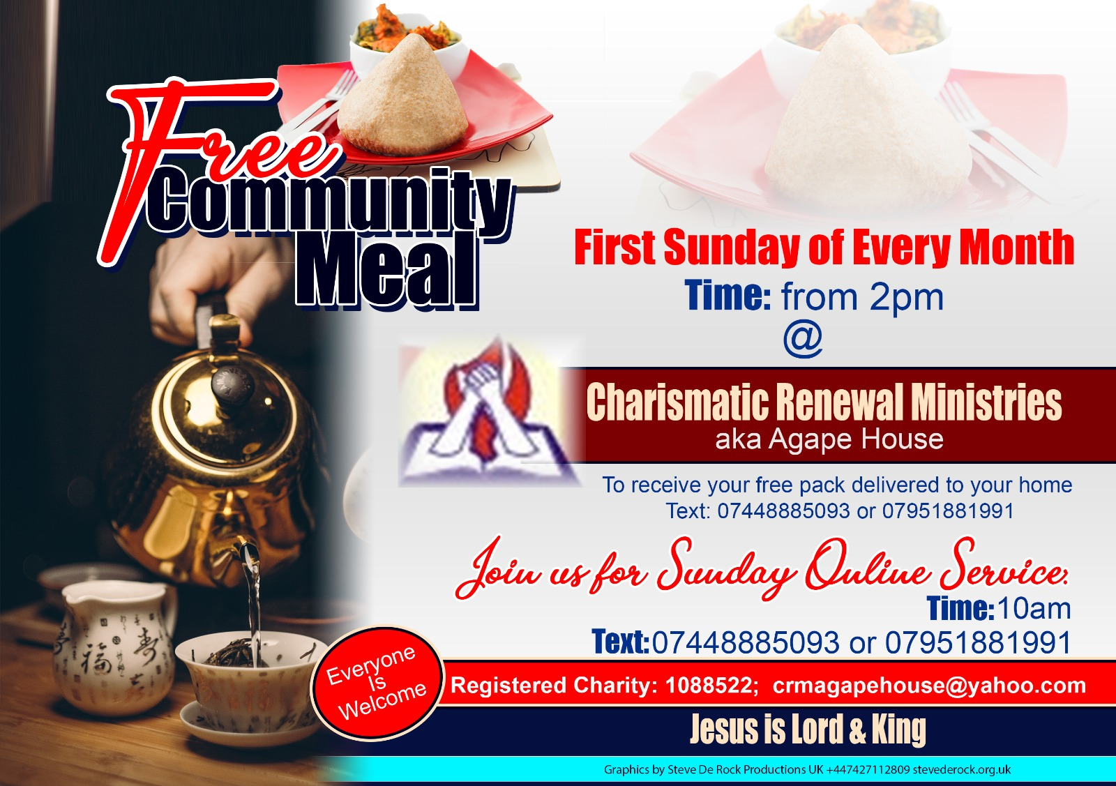 Community Meal eflyer
